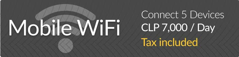 Stay connected with a mobile WiFi router
