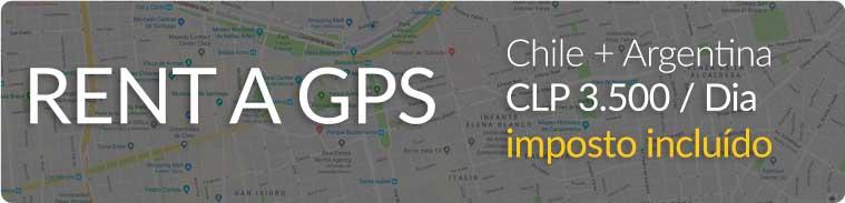 Alugar um GPS para o Chile e Argentina